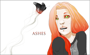 Ashes of a butterfly by Coalbones