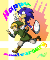 Happy anniversary by RockGaara