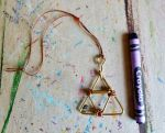 Triforce Wire Ornament (For Sale) by SpiderMilkshake