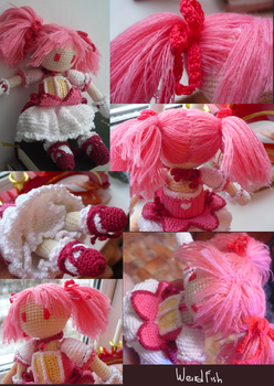 Madoka Magica crochet by Weird--Fish