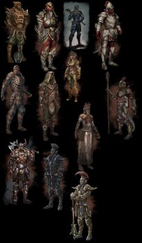 ESO Tamriel Map Armor Concepts by SenorDisasterMaster