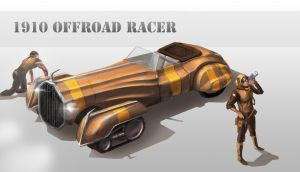 1910 Offroad Racer Concept by ESPj-o