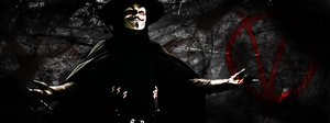 V for Vendetta Signature by chasefase