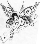 Music Fairy Tat' by The-Human-Abstract91