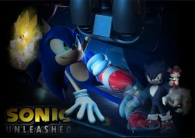 Sonic Unleashed Wallpaper by BingotheCat