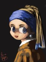 Girl With A Pearl Earring by rue789