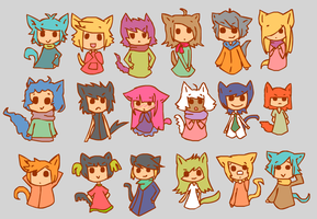 10 Points Each by LeafyAdopts