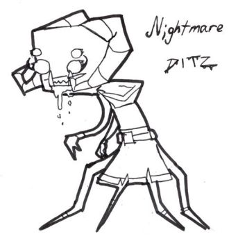 Nightmare Ditz by NekoNinja079