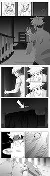 Nightmares: Guzma and Plumeria pg.1-3 by PhantomMuse