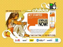 chikka-indiatimes site design by scrotumnose