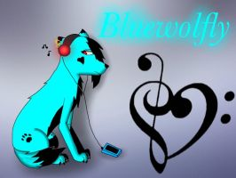 Bluewolfly by Pinkwolfly