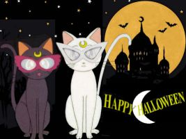 Trick or Cat Treat?! by SerenaAndMina