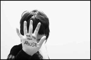 abuse awareness by LilyTurnedBlack