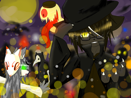 .:Halloween, join the parade:. by Tora-ruu