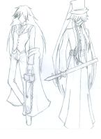 Outfits-Grell and Undertaker by RhodArt