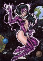 DC: Women of Legend - Star Sapphire by tonyperna