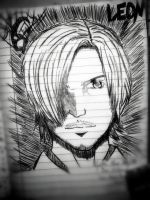 Notebook-Leon S. Kennedy RE6 by peachy15