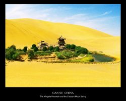 The Spring in a desert by Lotus-su
