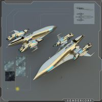 Sendercorp BHT shuttle by PINARCI