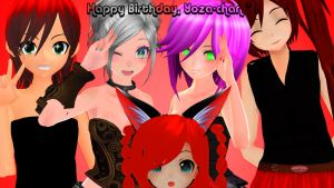 .: Happy Birthday, Yoza-chan! :. by IGetHighWithPeelz