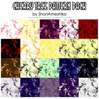 Cherry Tree Pattern Pack by SewDesuNe