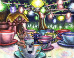 Disneyland Adventures: Teacups by Leithster