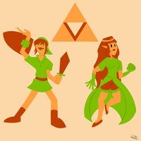 The Legend of Zelda by JR-Jayquaza