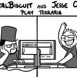 TB and Jesse play Terraria by medli20