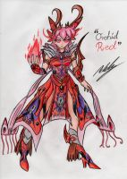 Orchid Red by Griddles