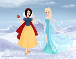 The True Snow Queen by M-Mannering