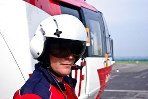 Helicopter Man 14286856 by StockProject1