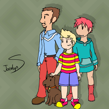 Happy 10th, Mother 3! by JocelynSamara