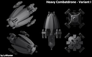 Combatdrone WIP 01 by Lc4Hunter