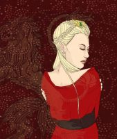 Cersei Lannister by IsabelSparrow