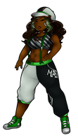 Hip Hop Chick by GingerQuin