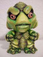 Classic Monster Munny: Gillman by BananaFairy59