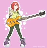 i love you, bass girl by Joven1