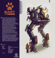 BAST Mech by TomEdwardsConcepts