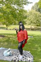 2014 Cosplay Picnic On the Common, Peace Pose by Miss-Tbones