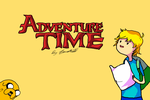 Adventure Time Wallpaper by BlondieAu