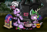 Counting Candies by FlutterThrash