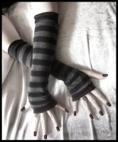 Dusks Embrace Arm Warmers by ZenAndCoffee