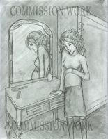 In front of a mirror by HILLYMINNE