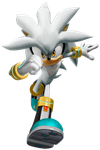 Sonic Rivals 2 Silver Render by SIMBA2131