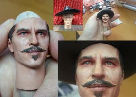 Doc Holliday (Val Kilmer) 1/6 scale paint job by DarrenCarnall