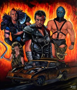 Mad Max 2 : The Road Warrior by JosefVonDoom