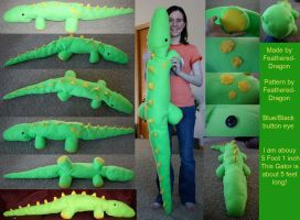 Sewing: Gator by FeatheredDragon