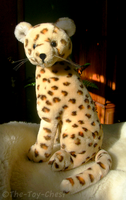 Vintage Dakin Cheetah Plush by The-Toy-Chest