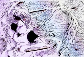 YANDERE ANGEL by 10yssirhc13