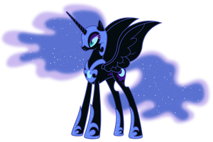 Nightmare Moon by 90Sigma